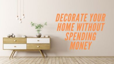 home decoration without money