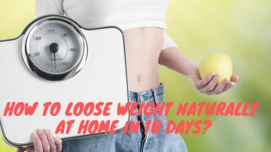 loss weight naturally at home